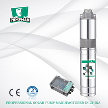PUMPMAN 3TSS 210W China solar energy system for farm irrigation solar submersible water pump