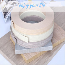 Decorative metal 1mm PVC edge banding for furniture/band/tape/strip for particle board trim/brim