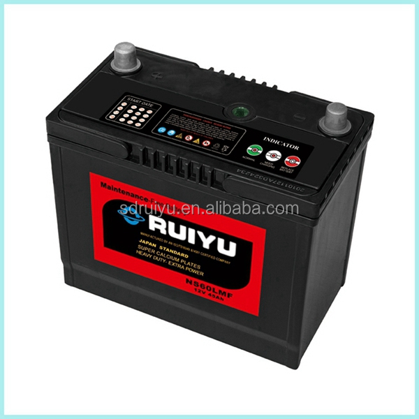 Reconditioned car batteries for sale NS60L ac delco batteries