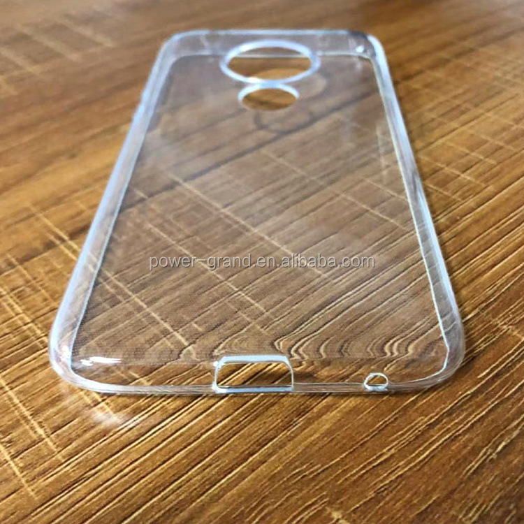 Crystal clear Soft TPU Protective phone case cover for Motorola Moto G7 Play US Version