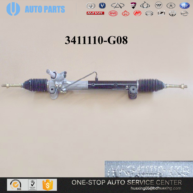 HOT SALE GREAT WALL VOLEEX C30 C50 AUTO SPARE PARTS 2904110-<strong>G08</strong> POWER STEERING GEAR BODY PARTS JAPANESE CAR PARTS