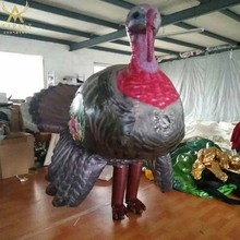 recommend supplier for inflatable turkey costume cartoon