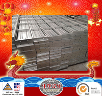 Canton High quality building construction scaffold steel plank 240mm*45mm*2500mm*1.5mm 1.6mm for saler