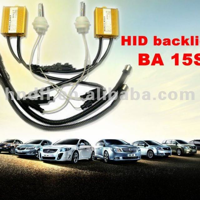 New HID BA15S xenon reversing lights Suitable for any vehicle 15W