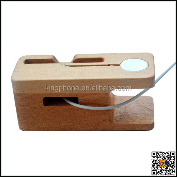 for iphone wood stand, wooden craft for mobile phone stand, wood holder for apple watch