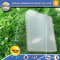 price of good quality anti-age heat resistant clear plastic