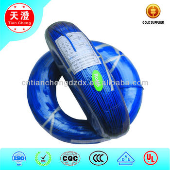 VDE HO5SJ-K Heat Resisting Silicone Rubber Insulation Fiber Glass Cable
