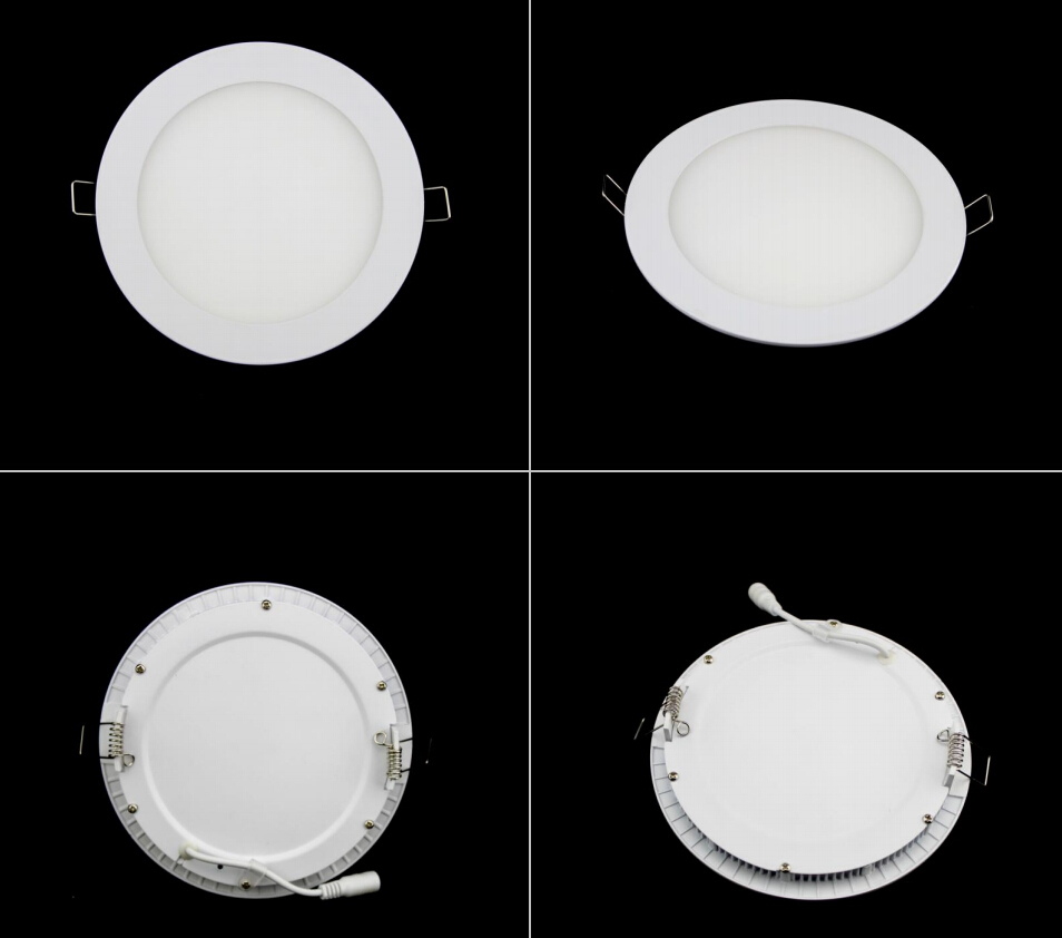 thin led down light lamp 6W 12W 24W led ceiling recessed downlight slim Round/Square panel light