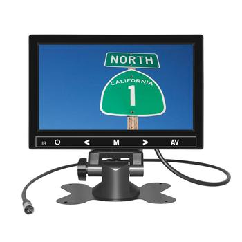 Portable 7 Inch TFT LCD Car Monitor 16:9 Car tv Headrest CCTV AHD Monitor with reverse camera