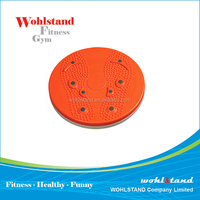 Magnetic fitness waist exercise twister board
