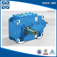 China maunfacturer Flender H/B series helical gearbox design for paper mill