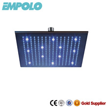 Temperature sensitive LED top shower head BS004-L