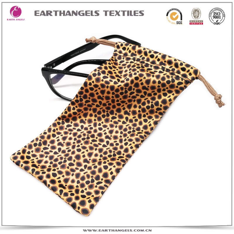 Custom Digital Printed Soft Microfiber Sunglass Bag