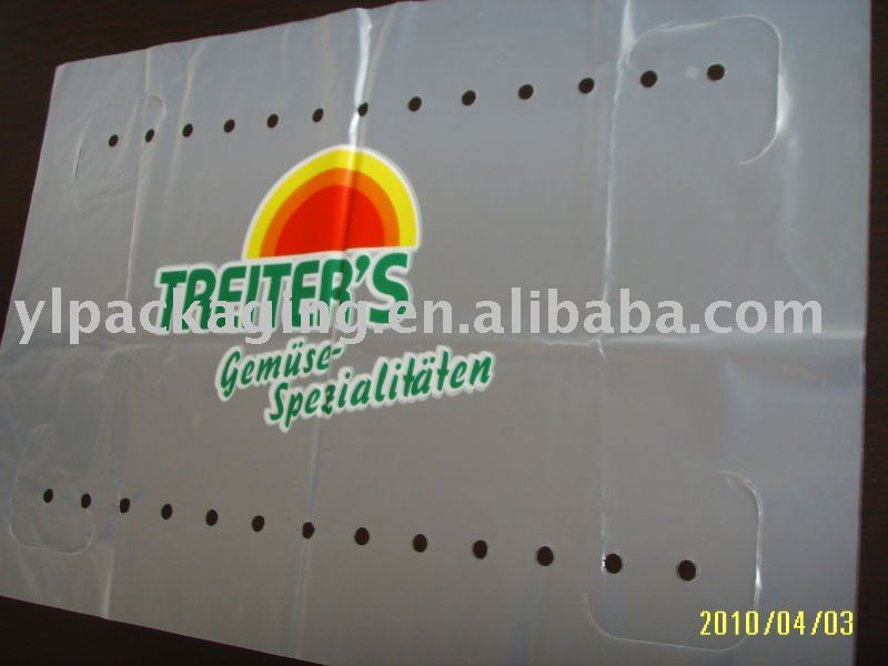 Ldpe Print Film With Holes a-1