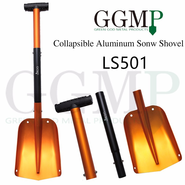new design light weight portable china car emergency auto atv telescopic collapsible aluminum snow shovel