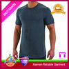 Blank mens 2016 the sports apparel gym 95 cotton 5 lycra men t shirt/high quality plain t-shirt for less than $1