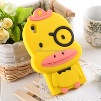 cute animal style 3D silicone mobile phone case cover