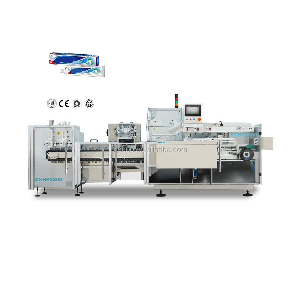 BRH DXHPX200 Toothpaste Automatic Cartoning Machine Packaging Line