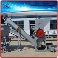 plastic PET bottle crusher/granulator/crushing machine