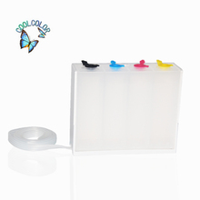 Empty Ciss Ink Tank(White color) For Epson Canon Hp Brother Printer Diy Ciss