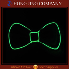 Led flashing bow tie with music activated