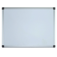 Magnetic whiteboard with roller