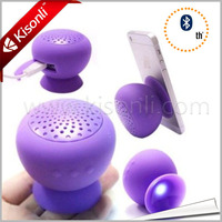 Mini Mushroom Bluetooth Speaker For ipod,iphone,With Silicone Suction Cup