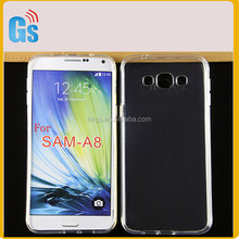 Full Clear TPU Gel Jelly Phone Back Cover For Samsung Galaxy A8 A800 A800F