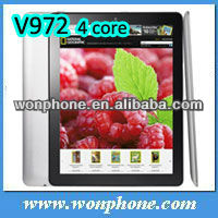 9.7inch Retain Screen RAM 2GB Quad Core Onda V972 Tablet PC