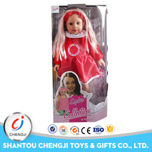 18 inch vinyl girl doll with sound 12 IC