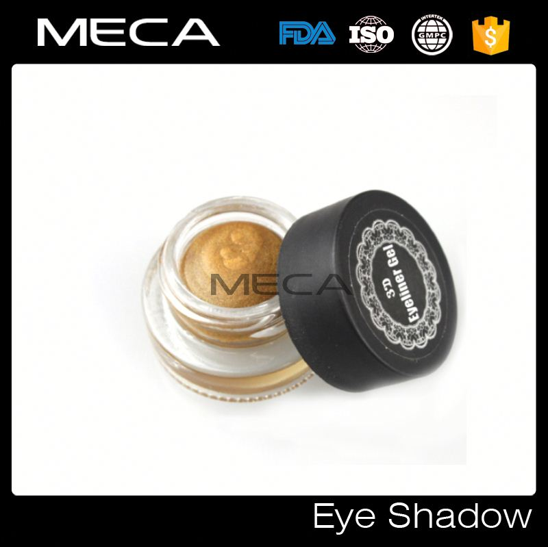 wholesale makeup shining eyeshadow No logo multi-colors 3D eyeshadow gel