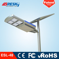 Solar Panel All In One 100W Highway Application Solar Street Light