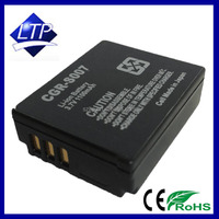 CGA-S007 CGR-S007E Camera Battery Pack Rechargeable for Panasonic DMC-TZ1 TZ2 TZ3 TZ4 TZ5 TZ11 TZ15 TZ50 Batteries