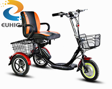 most safety design strong lithium battery scooter electric tricycle