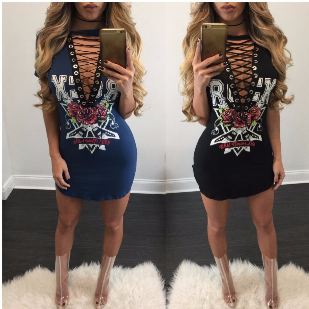 B32069A Bandage Bodycon Dress Mature Women Sexy Club Dress Mini Club Dress