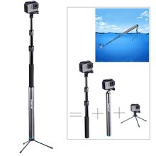Smatree SmaPole S3(12&quot;-40&quot;)- A Detachable Floating Pole for <strong>GoPros</strong> Heros7/6/5/ 4/3+/3/2/1 Series With 1/4&quot; Tripod Mount