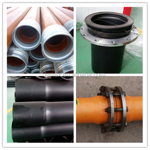 Non-toxic Black High Pressure PVC Pipe for Construction Water Supply