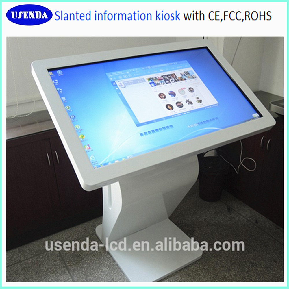 46 inch android touch screen kiosk information systems. Black Bedroom Furniture Sets. Home Design Ideas