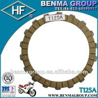 Motocycle clutch friction plate--T125(Benma group T125A)