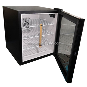 China Hot Sale Household High Quality 50L Small hotel Mini Bar Fridge with glass door
