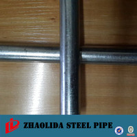 steel round pipe ! hot galvanized steel pipe manifacturer galvanized steel tube fence horse