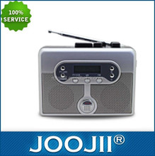 2016 FM/AM radio player with cassette and alarm clock on sale