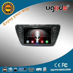 ugode Factory Directly Sale Car Radio with GPS 2 Din Car DVD Player for Suzuki SX4 S-cross