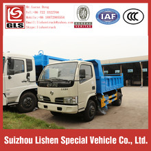 Hydraulic Garbage Truck Dongfeng 4*2 Rear Load Dump Rubbish Truck