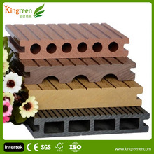 WPC Hollow Grooved Composite Decking Board Blaminate Flooring