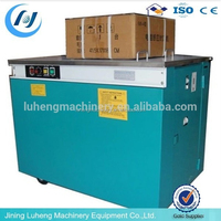 Semi-Automatic carton tying strapping machine/packing machine for carton box