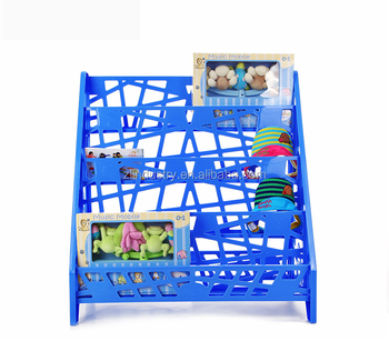Innovation customized nice-looking kids PP bookshelf