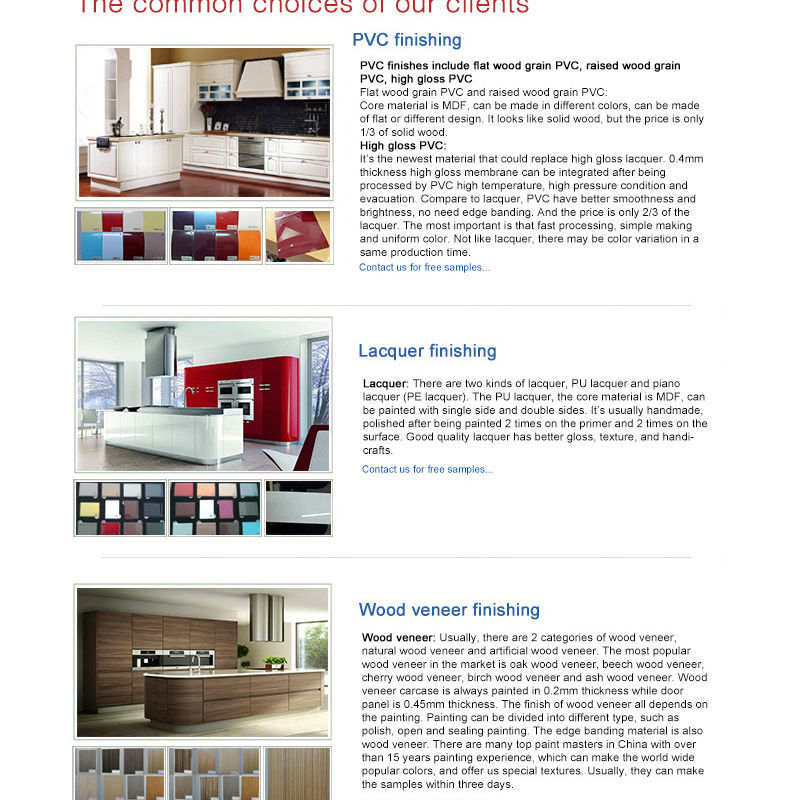 2016 prefab homes lacquer morden kitchen furniture online