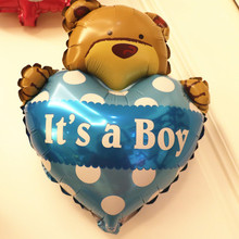 Baby Shower Foil Helium balloon Birthday Party Decoration Baby Balloons