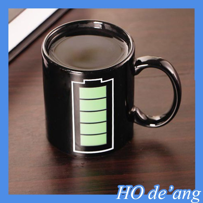 HOGIFT Complete change cups,stoneware mug,cup that changes color with heat